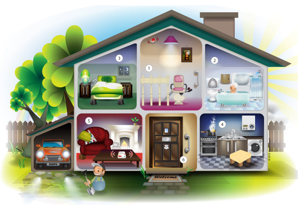 equipment house